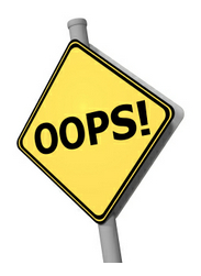 Oops: Errors and Omissions